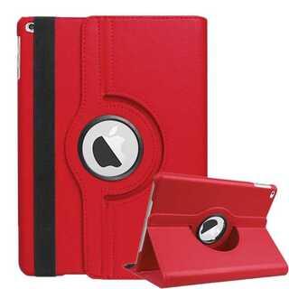iPad6 第六世代 , iPad5 第五世代 赤 シンプル iPad カバー (iPadケース)