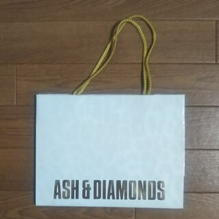 アッシュアンドダイアモンド(ASH&DIAMONDS)のアッシュ&ダイアモンズ ショッパー(ショップ袋)