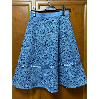 アプワイザーリッシェ(Apuweiser-riche)のアプワイザーリッシェ レーススカート(ひざ丈スカート)