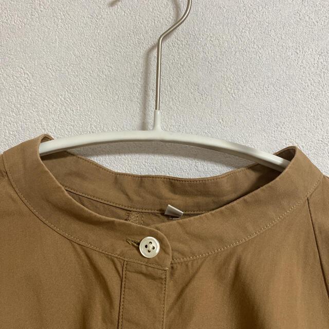 MUJI (無印良品)(ムジルシリョウヒン)の無印良品 五分袖シャツ レディースのトップス(シャツ/ブラウス(長袖/七分))の商品写真
