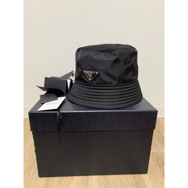 PRADA(プラダ)の美品 PRADA バケットハット メンズの帽子(ハット)の商品写真