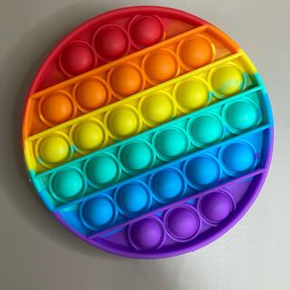 新品未使用✳︎ポップバブル丸型✳︎おもちゃ✴︎ストレス解消知能向上✳︎知育玩具