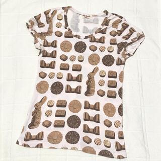 エミリーテンプルキュート(Emily Temple cute)のエミキュ ボンボンショコラ 半袖カットソー (カットソー(半袖/袖なし))