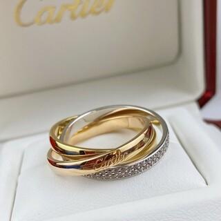Cartier - カルティエ トリニティリング k18 美品