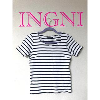 INGNI - INGNI♡リブtシャツ