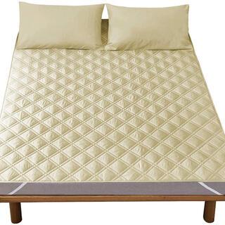 ベッドパッド  吸汗速乾 肌に優しい100X200cm(マットレス)