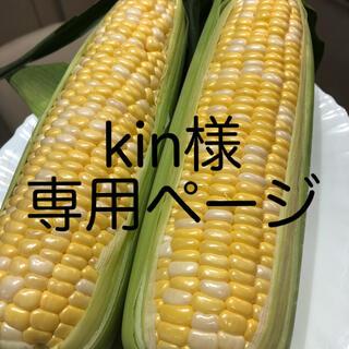 kin様専用ページ とうもろこし(野菜)