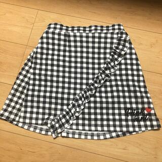 BABYDOLL - ピンクハート インナーパンツ付スカート