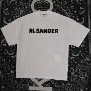 Jil Sander - JIL SANDER ジルサンダー ロゴ 半袖Tシャツs サイズ