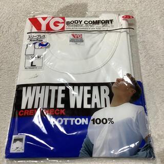 グンゼ(GUNZE)のグンゼ 下着 シャツ 新品 Lサイズ スリーブレス 白(その他)