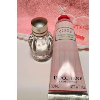 ロクシタン(L'OCCITANE)のロクシタン ローズ オードトワレ ミニ 香水 ハンドクリーム(香水(女性用))