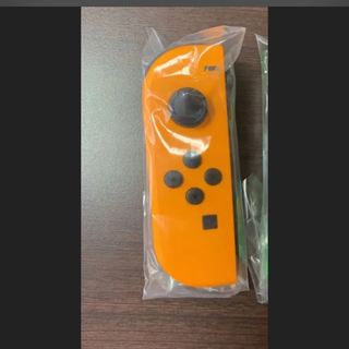 Nintendo Switch - 新品未使用 ニンテンドースイッチ ジョイコン 希少 ネオンオレンジ 左 スイッチ