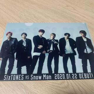 Johnny's -  SixTONES SnowMan クリアファイル