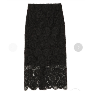 FRAY I.D - CELFORD セルフォード ペイズリーレースタイトスカート