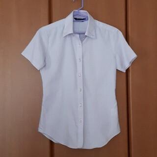 アオヤマ(青山)のレディースシャツ リクルート ワイシャツ 洋服の青山 半袖(シャツ/ブラウス(半袖/袖なし))