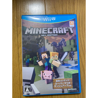 ウィーユー(Wii U)のWiiUソフト マインクラフト Minecraft マイクラ (家庭用ゲームソフト)