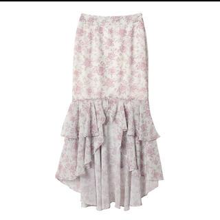 eimy istoire - eimy istoire Amanda flowerシフォンマーメードスカート