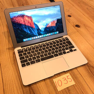 Mac (Apple) - SSD512GB MacBook air 11インチ early2015