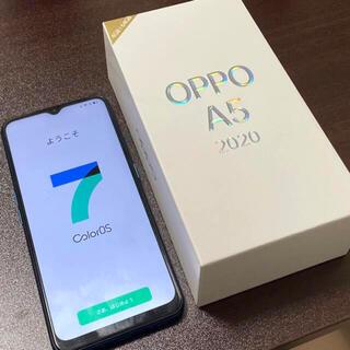 OPPO - OPPO A5 2020 CPH1943 64GB ブルー