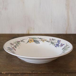 MIKASA - MIKASA ミカサ HERITAGE 花柄 シチュー スープ カレー皿 大深皿