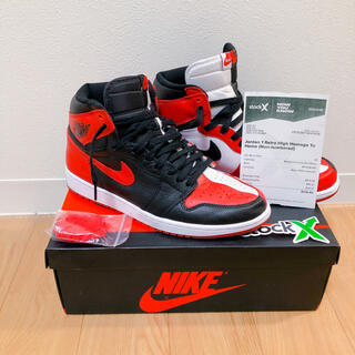 NIKE - NIKE AIR JORDAN1 homage to home 28cm