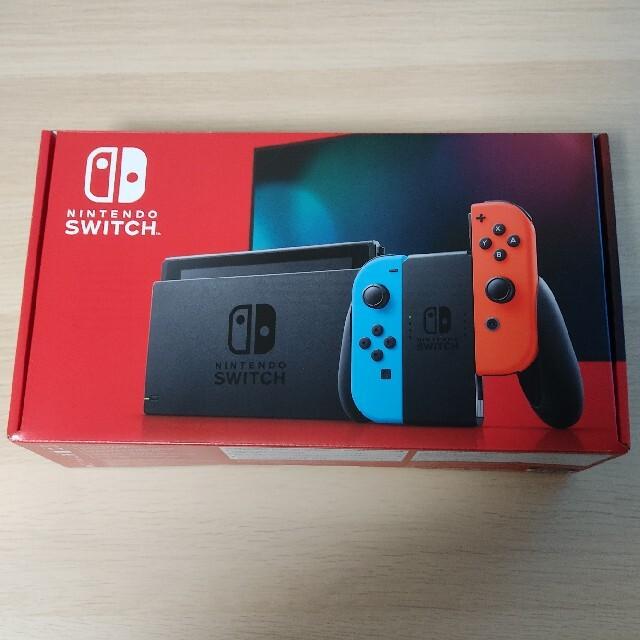 Nintendo Switch ネオンブルー (おまけ付き) エンタメ/ホビーのゲームソフト/ゲーム機本体(家庭用ゲーム機本体)の商品写真