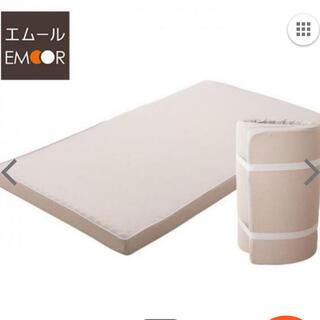 エムール-EMOOR 新品未開封 シングル フラットマットレス(マットレス)