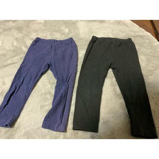 UNIQLO - ユニクロ レギンス パンツ サイズ90センチ 2枚