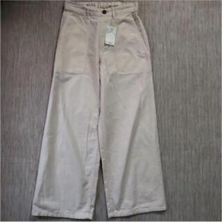サマンサモスモス(SM2)のサマンサモスモス 綿麻パンツ(カジュアルパンツ)
