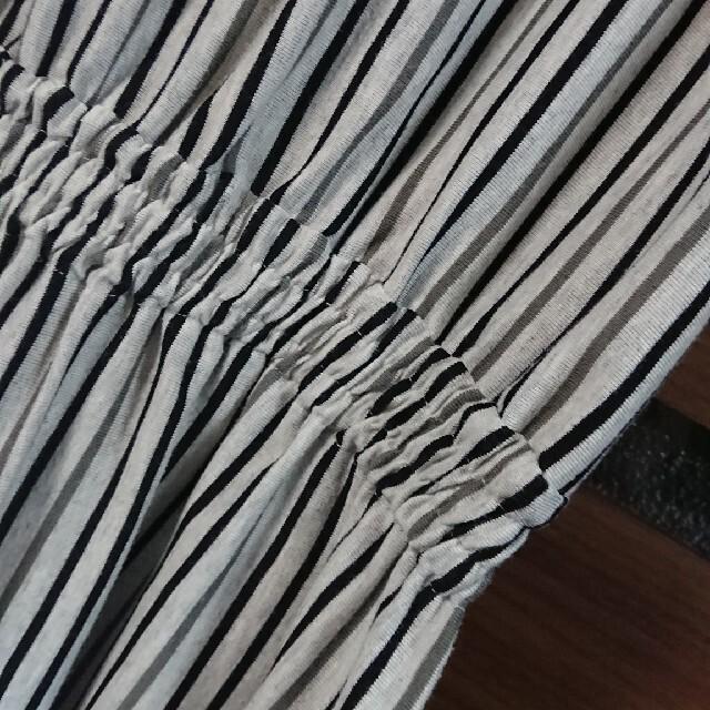 Graniph(グラニフ)のgraniphストライプワンピース レディースのワンピース(ロングワンピース/マキシワンピース)の商品写真