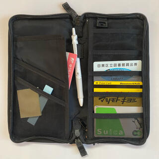 MUJI (無印良品) - 【5/9まで!】無印 無印良品 パスポートケース ペンケース ポーチ 整理