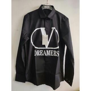 ヴァレンティノ(VALENTINO)のヴァレンティノValentino  シャツ ブラック メンズ (シャツ)