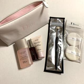 Christian Dior - Dior ディオール メイクポーチ 化粧水 美容液 マスク ブラシ ノベルティ