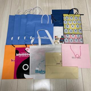 familiar - ショッパー ショップ袋 紙袋