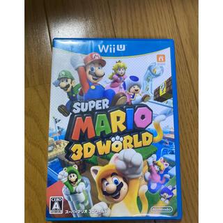 ウィーユー(Wii U)のスーパーマリオ 3Dワールド(家庭用ゲームソフト)