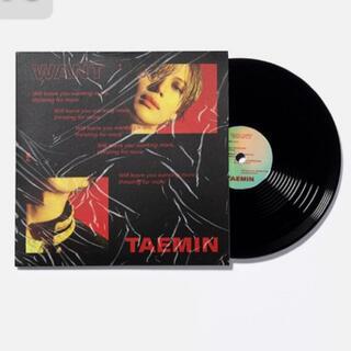 SHINee - SHINee テミン WANT レコード型コースター LP 公式 SUM