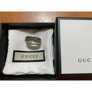 Gucci - gucci ダブルGシルバーリング 21号