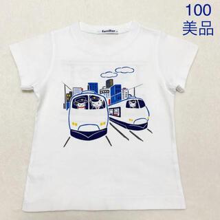 familiar - 【美品】familiar  おはなしTシャツ  100 ファミリア
