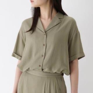 オゾック(OZOC)の洗える 半袖開襟シャツ(シャツ/ブラウス(半袖/袖なし))