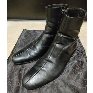 グッチ(Gucci)のイタリア製のGUCCI・グッチのショートブーツ(ブーツ)