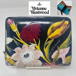 Vivienne Westwood - 未使用☺︎Vivienne Westwood 二つ折り財布 花柄 フラワー