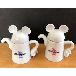 Disney - 美品 ミッキーマウス 醤油差し 2個セット レア 非売品