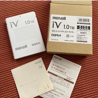 マクセル(maxell)のmaxell ivdr カセット 1TB 美品(ブルーレイレコーダー)