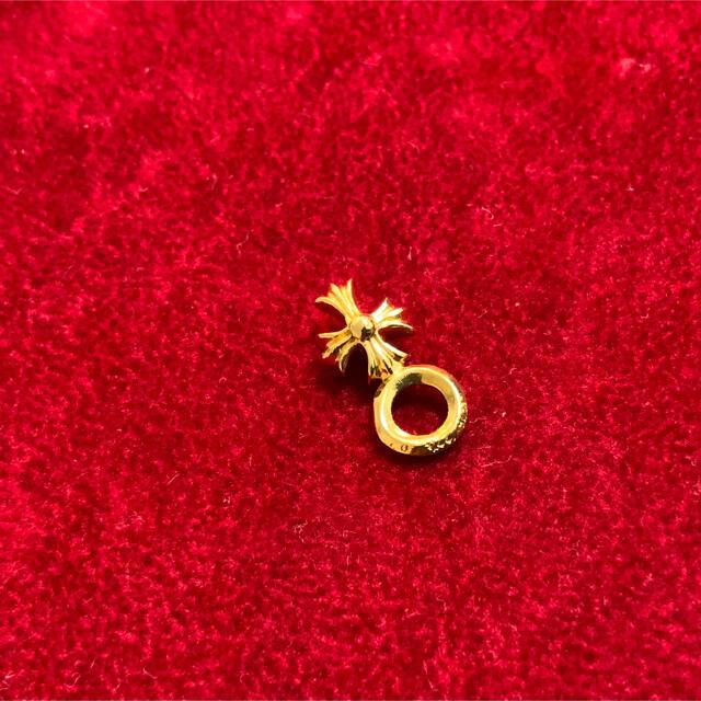 【インボイス原本無修正】クロムハーツ  スタックチャームクロス 22k  メンズのアクセサリー(ネックレス)の商品写真
