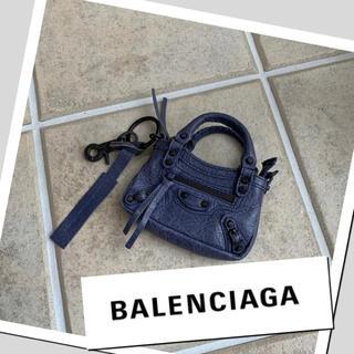 Balenciaga - BALENCIAGA タイニーシティ ミニハンドバッグ バッグチャーム