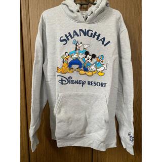 ディズニー(Disney)の【レア】上海ディズニー限定パーカー スウェット トレーナー(トレーナー/スウェット)