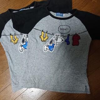 ピーナッツ(PEANUTS)のPEANUTS☆スヌーピー☆Tシャツ【130】(Tシャツ/カットソー)