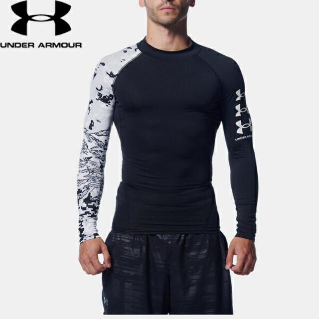 UNDER ARMOUR(アンダーアーマー)のアンダーアーマー コンプレッションシャツ サイズM スポーツ/アウトドアのランニング(ウェア)の商品写真