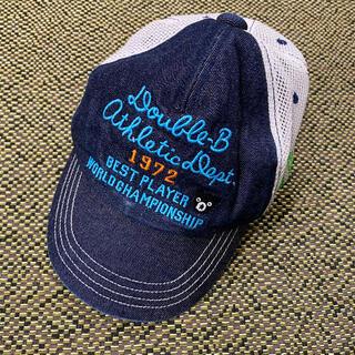 ダブルビー(DOUBLE.B)のダブルビー キャップ 帽子 サイズS(帽子)