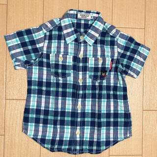 ダブルビー(DOUBLE.B)のDOUBLE.B 半袖シャツ(ブラウス)